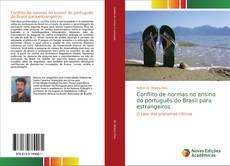 Buchcover von Conflito de normas no ensino do português do Brasil para estrangeiros