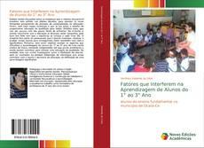 Capa do livro de Fatores que Interferem na Aprendizagem de Alunos do 1° ao 3° Ano
