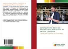Bookcover of Gerenciamento de riscos ambientais do abatedouro de Pau dos Ferros/RN