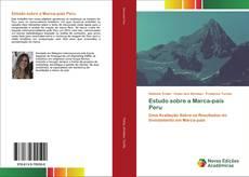 Buchcover von Estudo sobre a Marca-país Peru