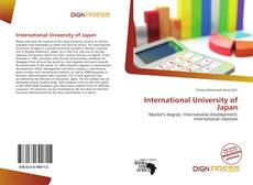 International University of Japan kitap kapağı