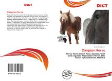 Portada del libro de Caspian Horse