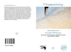 Capa do livro de Joseph Wharton