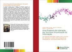 Capa do livro de Uma Proposta de Interação por Voz para Visualização da Informação