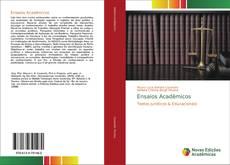 Portada del libro de Ensaios Acadêmicos