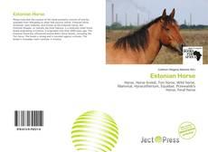Couverture de Estonian Horse