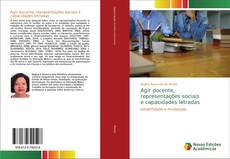 Couverture de Agir docente, representações sociais e capacidades letradas