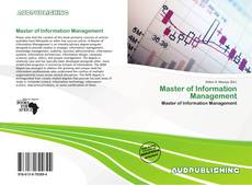 Bookcover of Master of Information Management