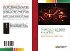 Обложка Gastos Públicos com Cultura no Município de Taquaritinga-SP 2005-2016