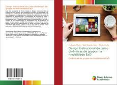 Capa do livro de Design Instrucional do curso dinâmicas de grupos na modalidade EaD