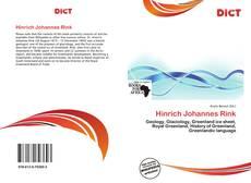 Portada del libro de Hinrich Johannes Rink
