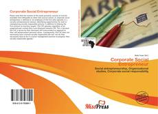 Copertina di Corporate Social Entrepreneur