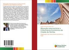Capa do livro de Migração Internacional e Crescimento Económico da Cidade de Pemba.