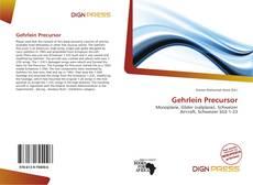 Bookcover of Gehrlein Precursor