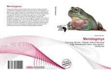 Bookcover of Meristogenys