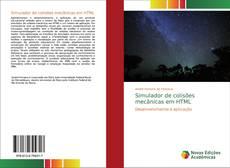 Bookcover of Simulador de colisões mecânicas em HTML