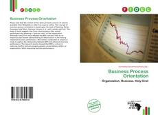 Bookcover of Business Process Orientation