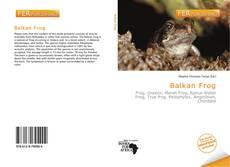 Bookcover of Balkan Frog