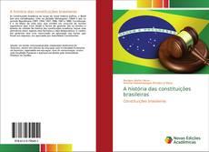 Capa do livro de A história das constituições brasileiras