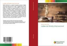 Couverture de Lições de Direito Internacional