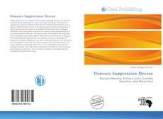 Обложка Honours Suppression Decree