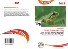 Bookcover of Giant Philippine Frog