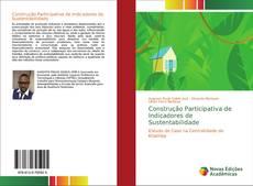 Обложка Construção Participativa de Indicadores de Sustentabilidade