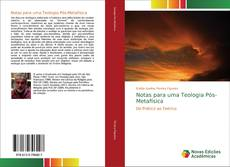 Copertina di Notas para uma Teologia Pós-Metafísica
