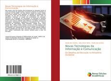 Capa do livro de Novas Tecnologias da Informação e Comunicação