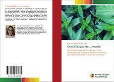 Capa do livro de Cristalização de L-mentol