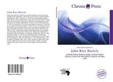 Bookcover of John Ries Bartels