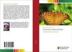 A humana metamorfose kitap kapağı