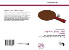 Copertina di English Open (Table Tennis)