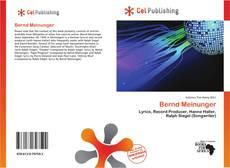 Buchcover von Bernd Meinunger