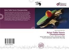 Buchcover von Asian Table Tennis Championships