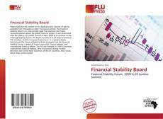 Capa do livro de Financial Stability Board