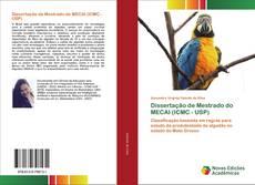 Capa do livro de Dissertação de Mestrado do MECAI (ICMC - USP)