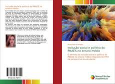 Inclusão social e político do PNAES no ensino médio kitap kapağı