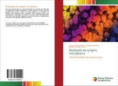 Capa do livro de Biodiesel de origem microbiana