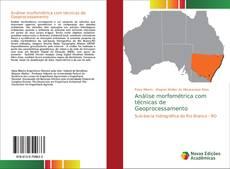 Capa do livro de Análise morfométrica com técnicas de Geoprocessamento