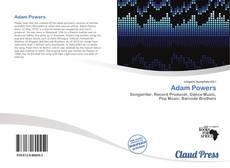 Couverture de Adam Powers