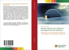 Bookcover of Noções básicas de didáctica de engenharia de software