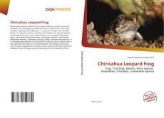 Borítókép a  Chiricahua Leopard Frog - hoz