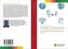 Tecnologia na língua de sinais kitap kapağı