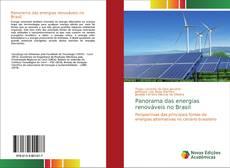 Portada del libro de Panorama das energias renováveis no Brasil