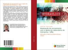 Capa do livro de Modelação do escoamento com o apoio do Laboratório de Hidráulica - UMa
