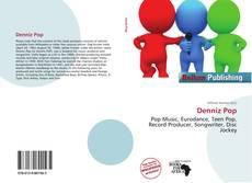 Capa do livro de Denniz Pop
