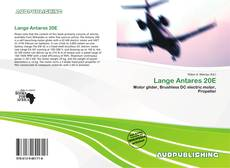 Bookcover of Lange Antares 20E