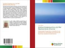 Capa do livro de Análise biogeoquímica do Mar Mediterrâneo Oriental