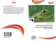 Bookcover of Knocking Sand Frog